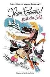 Chien Pourri fait du ski !
