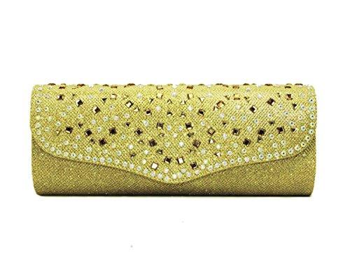 Papaya Fashion occasione Borsa Gold