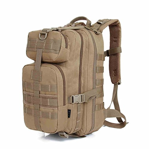 DFHHG® Camo Amateurs Militaires Tactiques Epaules Sac à dos Sac d'alpinisme Outdoor Equipment Supplies Sports Sac Homme Sac à dos Voyage