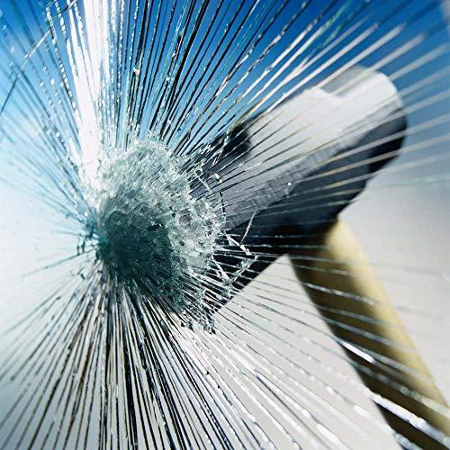 Happyroom Fenster Splitterschutz Folie Sicherheitsfolie Splitterschutzfolie Einbruchschutzfolie Fensterfolie Folie(76cm*10m)