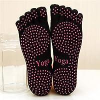 Anti Rutsch Fünf Zehen Socken Dance Socken Baumwolle Breath Yoga Socken 5 Finger Zehensocken