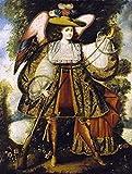 Cuzco School - Arcangel Con Arcabuz Artistica di Stampa (45,72 x 60,96 cm)