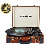 Lauson CL605 Tocadiscos Maletín, Bluetooth, USB, Salida RCA, Función Encoding 3 Velocidades