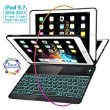 Best Ipad Air Case With Keyboard Bluetooth Backlits - New iPad 9.7 Keyboard Case (2017,2018), GreenLaw 7 Review