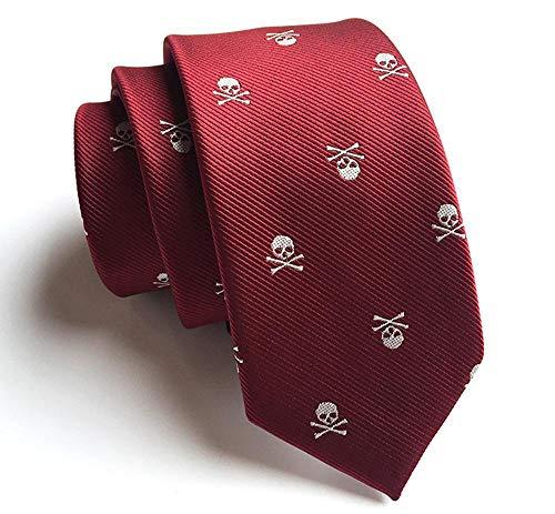 Littlefairy Hombre Designer Corbata,Lazo de 6cm Slim versión...