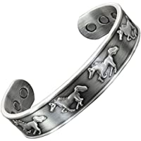 Kupfer Armbänder für arthritis-mens Damen verstellbar Kupfer magnetisches Armband für Arthritis Schmerzen Relief... preisvergleich bei billige-tabletten.eu