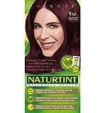 Naturtint Coloration capillaire naturelle permanente - Ingrédients végétaux actifs - 100% couvrant - Couleur 4M Châtain acajou