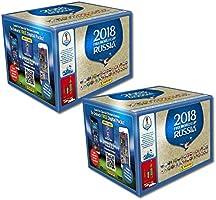 Panini Fifa World Cup 2018 - Autocollant WM Russia 2018 - 2 présentoirs de 50 sacs chacun = 100 sacs = 500 stickers - série composée de 670 photos - version NL, BE, LU et autres pays
