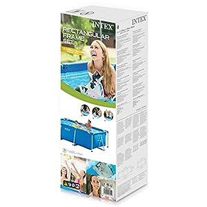 Intex 28270 Piscina Rettangolare, senza Pompa Filtro, 220 x 150 x 60 cm