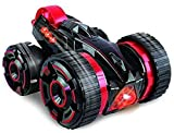 #9: spincart™ RC Stunt Car Five Wheels Race 2WD Remote Control Off Road Car with LED Headlights Extreme High Speed 360 Degree Rolling Rotating Rotation With Impact Resistance Wheels With Shock Absorbers Assorted Colours