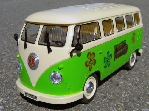 RC Auto VW Bulli - Flower Power Edition 1:16 - 388