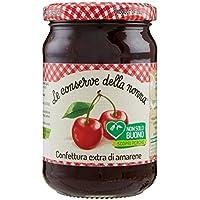 Le Conserve della Nonna Confettura Extra di Amarene Ottenuta da Frutta Fresca e con Zucchero di Canna - 340 g - [confezione da 12]