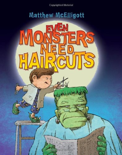Even Monsters Need Haircuts por Matthew McElligott