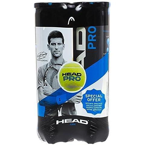 Head - Bipack pro blue - Balles de tennis pack de 2 tubes - Jaune - Taille Unique