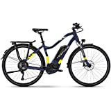 Haibike E-Bike SDURO Trekking 7.0 Damen 500Wh 11-G XT 18 HB BCXI Blue/Yellow/Silver Matt Small