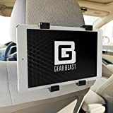 Car Back Seat Headrest Mount Holder For IPad Pro 12.9 And 9.7 IPad Air IPad Mini Samsung Galaxy Tab Google Pixel C Sony Xperia Z4 Z3 Nexus 9 Microsoft Surface Nabi And Other 7 To 13 Tablets XLG - 7 To 13 Inch Tablet Display