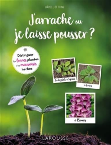 J'arrache ou je laisse pousser ?: Distinguer les bonnes plantes des mauvaises herbes