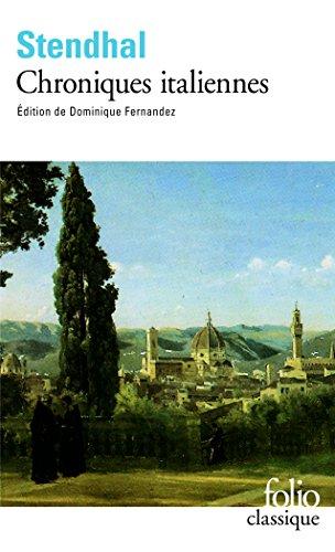 Chroniques italiennes (Folio) por Stendhal