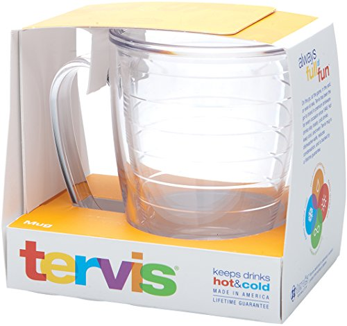 Tervis Clear 15-Ounce Mug, Boxed by Tervis (Tervis Oz Becher 15)