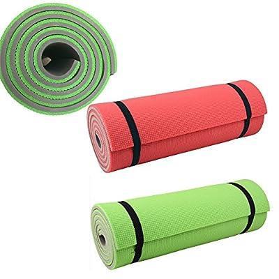 JEMIDI Profi Yogamatte & Camping Fitnessmatte 180cm x 50cm x 1,2cm Matte Pilates Sport