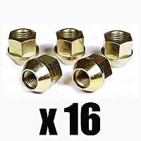 AEZ: Tuerca de rueda M12 x 1,25 para llantas de aleación y acero, 16 unidades