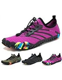 dabdf6e2c6a Zapatos de Agua Hombre Mujer Zapatillas Snorkel Buceo Surf Piscina Playa  Deportes Acuáticos Escarpines Yoga Vela