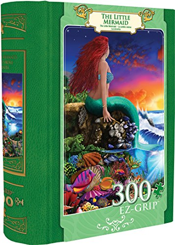 Masterpieces Little Mermaid EZ Grip Book Box Puzzle (Puzzle-masterpieces)