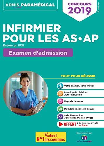 Concours infirmier pour les AS-AP Entrée en IFSI : Aide-soignant et Auxiliaire de puériculture par Isabelle Bisutti