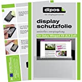 dipos I 2X Schutzfolie matt passend für Odys Winpad X9 22,6 cm (8,9 Zoll) Folie Bildschirmschutzfolie