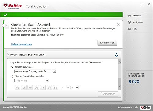 McAfee Total Protection 2017 | 5 Geräte | 1 Jahr | PC/Mac/Smartphone/Tablet | Download - 5