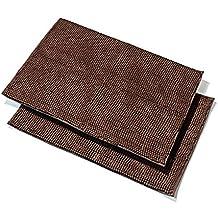 Pack de 2microfibra extra suave Shag alfombra de baño, base antideslizante,, secado rápido, 32x 20-Inches