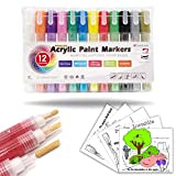Best US Art Supply Kids Markers - Acrylic Paint Pens with Reversible Tip: Premium Painting Review