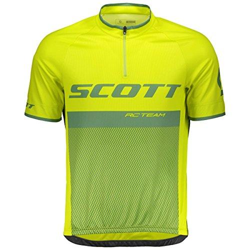 Scott RC Team 20 Fahrrad Trikot kurz gelb/grün 2018: Größe: XL (54/56)