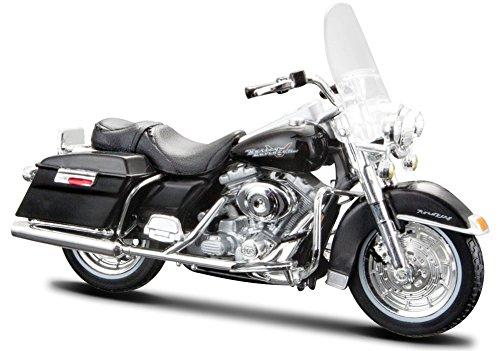 Harley Davidson Modell, 1999 FLHR Road King (32), Maisto Motorrad 1:18 Harley Davidson Motorrad