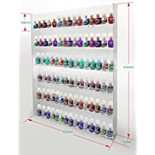 1 brillante de pared acrílico 6 x 15 esmalte de uñas de pantalla para anpr23a -090