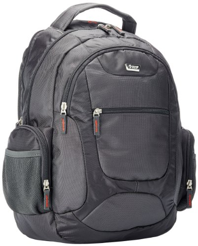 VIP i5 Polyester Grey Laptop Bag  available at amazon for Rs.2199