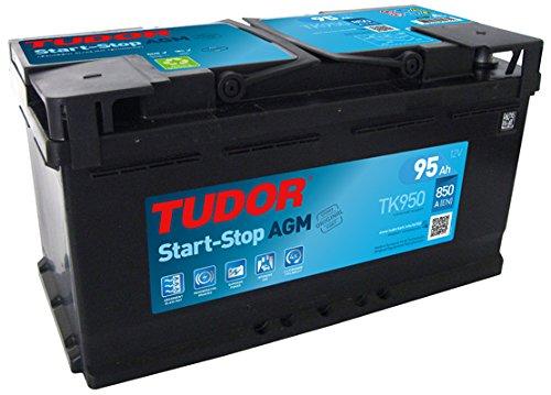 Batería para coche Tudor AGM Start-Stop TK950 12V 95Ah - 850A