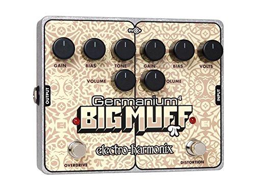 Electro Harmonix Germanium 4 Big Muff PI · Pedal guitarra eléctrica