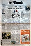"""MONDE (LE) [No 18814] du 21/07/2005 - """"NANSEN OU L'ODYSSEE POLAIRE - LES RESCAPES - LE MONDE DES ADOS - LA BIOLUMINESCENCE DANS LES GRANDS FONDS ET DEUX BONS PLANS - LES PREVISIONS DE LA METEO - PLAGES ; JEUX - LE TUBE DE L'ETE - 1971 - HERE'S TO YOU - ETATS-UNIS - GEORGE BUSH NOMME UN MODERE A LA COUR SUPREME - TERRORISME - TONY BLAIR EXHORTE LES MUSULMANS A AFFRONTER L'IDEOLOGIE DU MAL - MADAGASCAR - LA SITUATION DANS L'ILE OU JACQUES CHIRAC EST ATTENDU JEUDI - CREDIT AGRICOLE..."""