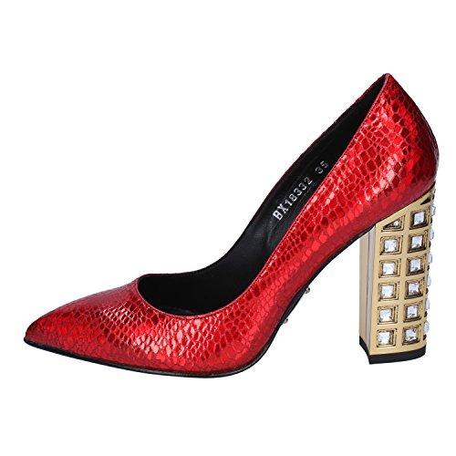 ROBERTO BOTTICELLI Zapatos salón Mujer Cuero Rojo