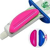 Toothpaste Dispenser, Creative Tube Cream Facial Cleanser Squeezer 2PCS