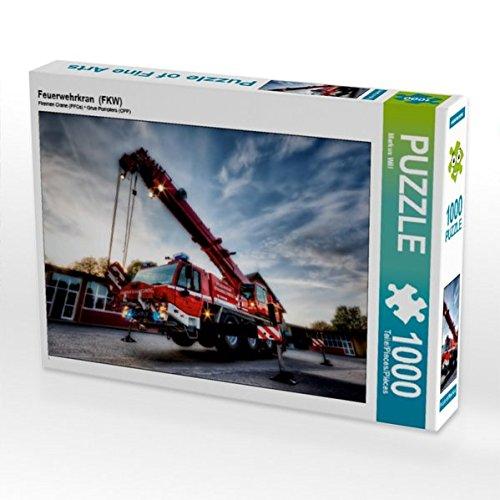 feuerwehrkran spielzeug Feuerwehrkran (FKW) 1000 Teile Puzzle Quer