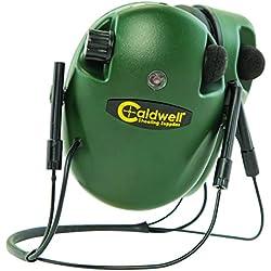Caldwell E- MAX BTH Cascos Electronicos, Adulto, Unisex, Verde, Talla Única