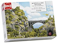 Busch Environnement - BUE7590 - Modélisme Ferroviaire - Mortier de Construction - Rochers