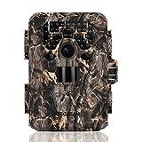 TEC.BEAN Trail Camera 12 MP 1080P Caméra de chasse avec vision nocturne infrarouge...