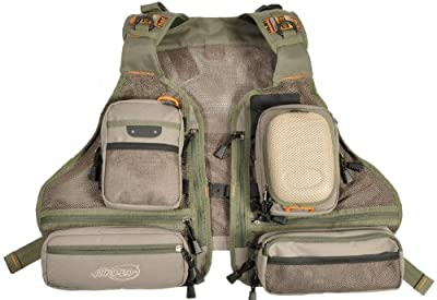 Ex Demo Airflo Lightweight Padded Adjustable Fly Fishing Mesh Vest from Airflo