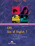 CPE Use of English 1 for the Revised Cambridge Proficiency Examination: Teacher's Book by Virginia Evans (2001-11-10)