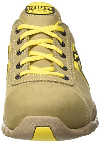 Diadora Glove Ii Low S3 Hro, Chaussures de Sécurité Mixte Adulte, Gris, MEDIA Gris / Jaune