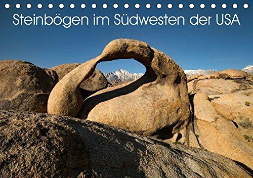 Steinbögen im Südwesten der USA (Tischkalender 2019 DIN A5 quer)