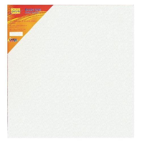 Kreul 610010 - Solo Goya Keilrahmen Stretched Canvas Basic Line, ca. 100 x 100 cm, 4 fach grundiert, für Öl-, Acryl- und Gouachefarben